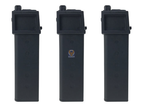 KJ Works KC02 30rounds Gas Long Magazine. (3 pieces set)