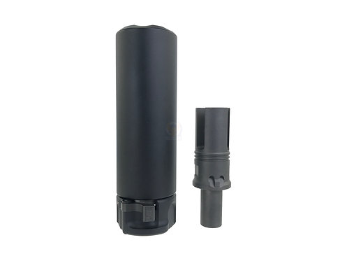 RGW QD socom 46 mini 12mm- silencer in SF style (BK)
