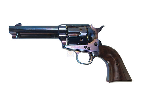 FCW x King Arms SAA .45 Peacemaker Airsoft Gas Revolver S 4 inches - Bluing