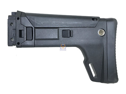 A&K Masada AEG Rifle Multi-Adjustable Folding Stock (BK)