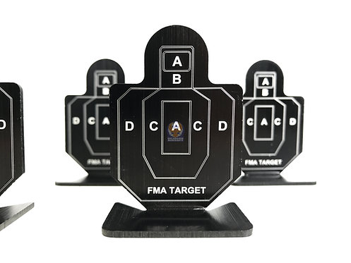 FMA TB1003 Practice Target A Group Of Six