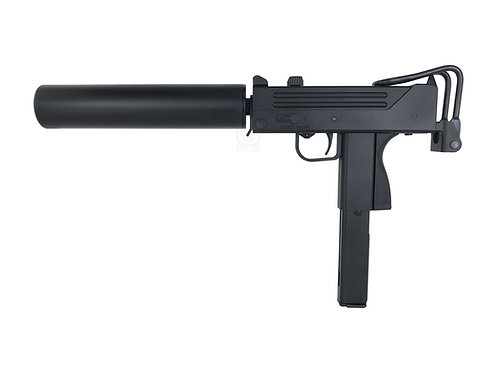 HFC HG-203 M11A1 / Mac 11 Airsoft Gas Blowback SMG with Silencer