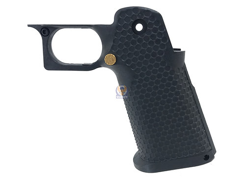 AW Custom HX Grip Kit for Hi-Capa Series Gas Blowback Airsoft Pistols - Black