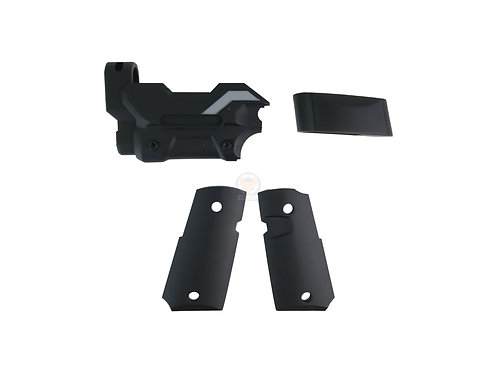 FCWVorpal Bunny ABS kit for TM Detonics / Army R45 Black
