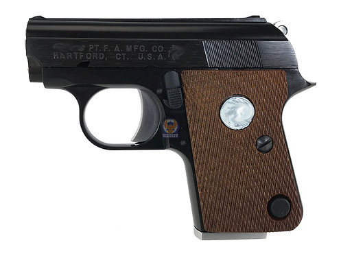 FLW custom WE Full Metal CT25 (Colt.25) Gas Blow Back Pistol with C marking