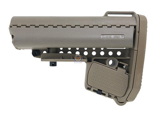 Classic Army A390P-2 Enhanced Carbine Modstock for Li-Po battery (Tan)