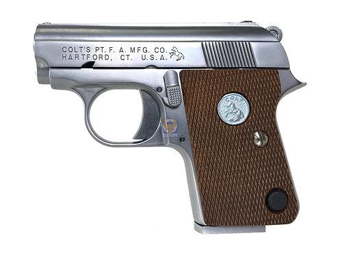 FLW WE Full Metal Full Marking CT25 (Colt.25) GBB Pistol.SV. Type 2