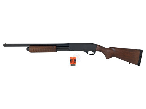 Dominator International DM870 Shotgun Std Full Steel 4+1 Version (Real Wood)