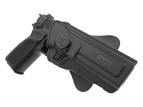 Amomax Browning High Power / Mark 3 Holster Right Black