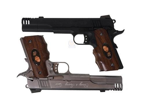 FCW Devil May Cry Ebony & Ivory 1911 GBB Pistols 2pcs Set (WE BASE)