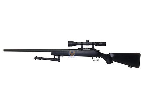 Well MB03 Bolt Action Sniper Airsoft Rifle ( Black )