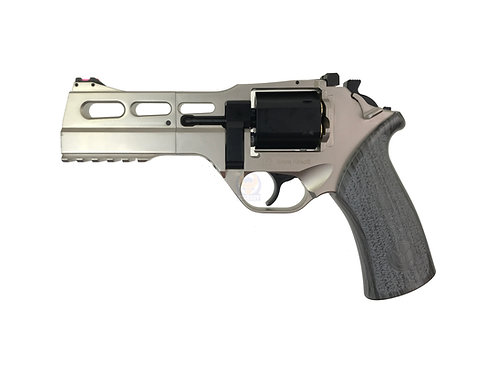 BO Chiappa Rhino 50DS .357 CO2 Revolver Silver (BK Cylinder), Limited Edition