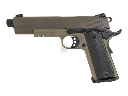 Army R28-1 NightStorm TG-2 1911 MEU GBB Pistol GBB (DE 2 Tone)