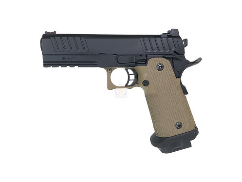 ARMY R603 High Capacity 4.3 STI DVCP Staccato  Style GBB Pistol DE