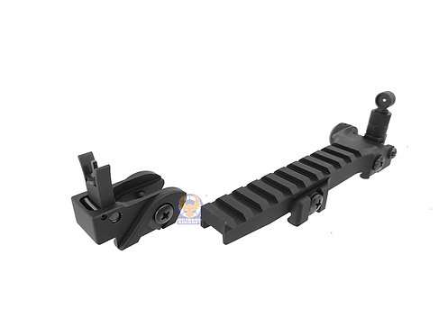 Classic Army A252M Flip Up Sight Set and Rail Set For G36 AEG