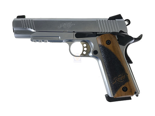 Army R28 Kimber Warrior GBB Pistol With Kimpoi Wood Grip (SV)
