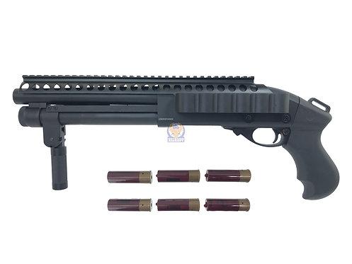 Golden Eagle 8876 K4 M870 Super Shorty Gas 3/6 Shot Pump Action Shotgun