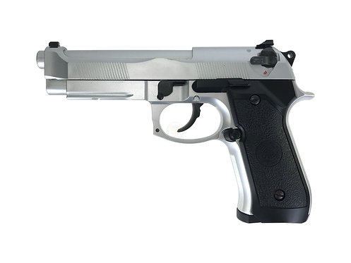 HFC HG-190S M9 ABS Gas Blowback Airsoft Pistol (SV)