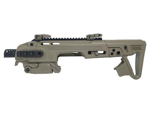 CAA RONI G1 Glock Pistol Carbine Conversion Kit for Airsoft Glock (DE)