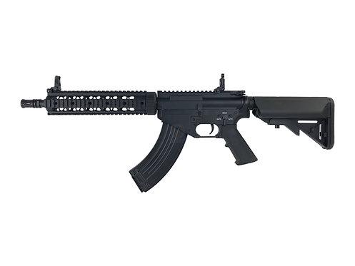 "CYMA CM.093 AR-47 10"" Quad Rail Electric Airsoft AEG Rifle"
