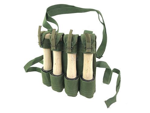 FCW NVA VC Grenade Webbing with Dummy Type 67 ChiCom Stick Grenade