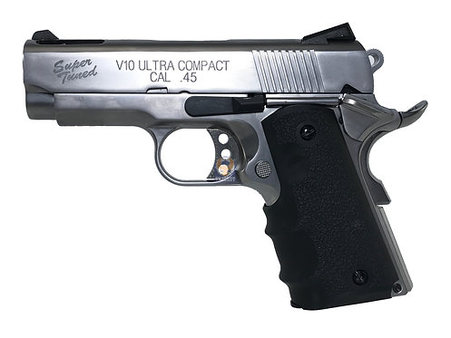 """FLW x AW / WE v10 Ultra Compact """"Super Tuned"""" 1911 GBB Pistol (SV)"""