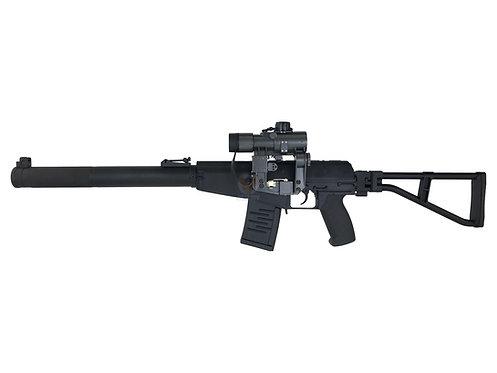 AY AS VAL Vintorez Full Metal Airsoft AEG Rifle red dot set (Folding Stock)