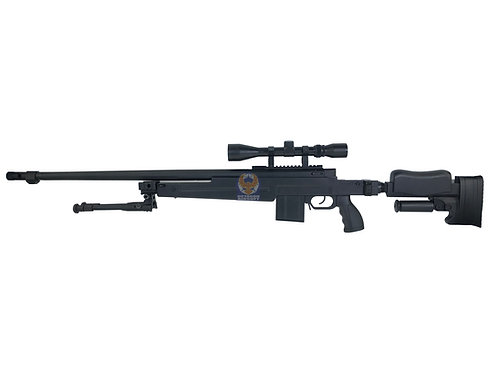 WELL MB-4414D L96 Tactical Bolt Action Sniper Airsoft Rifle (DE)