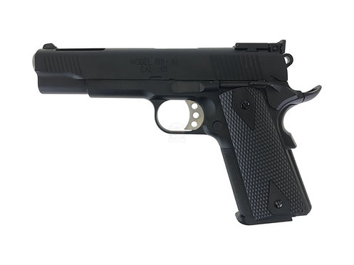 FLW x AW M1911 V12 Gas Blow Back Pistol NE1201 Springfield Marking Black Custom
