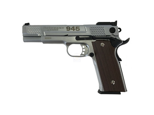Well S&W M945 Fish Scale Full Metal GBB Pistol (SV)