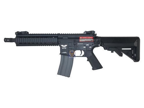 """APEX Full Metal Tactics Bravo 8"""" Ris CQB M4 AEG Airsoft Gun"""