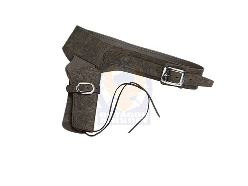 FCW Cowboy SAA Leather Holster Brown Type A (Umarex / King Arms.etc)
