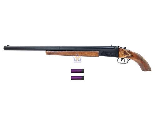 Double Barrel Type F Gas Shotgun LH/SS Custom