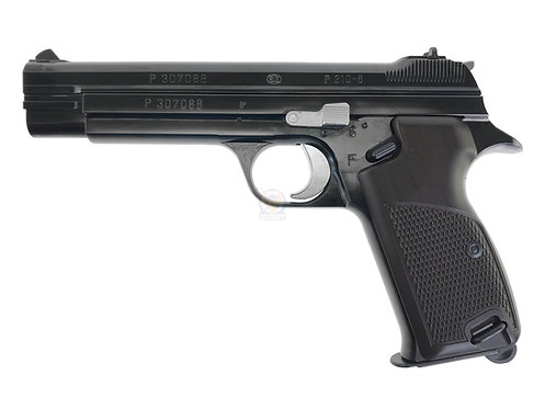 Marushin P210 6mm GBB Pistol (W Deep Black)