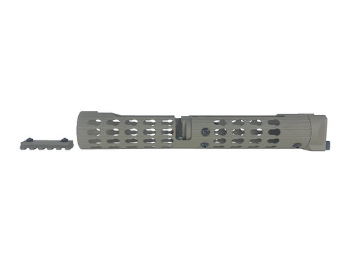 TWI VS-25 Keymod Aluminum Handguard For AK105 (Tan)