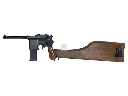 WE M712 C96 Gas Pistol with marking (自來得手槍)