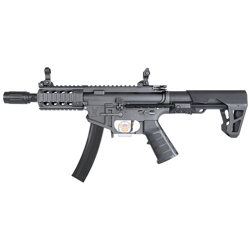 King Arms PDW 9mm SBR Shorty AE (Grey)