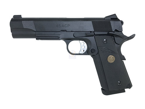 Carbon 8 M1911 M45CQP CO2 Blow Back GBB Pistol