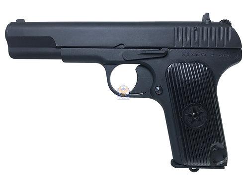 SRC SR-33 TT-33 Tokarev Full Metal Airsoft Gas Blow Back Pistol GB-0711