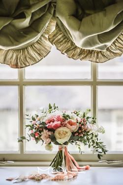 Silk ribbons and velvet