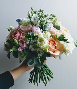 Bouquet pastel colours
