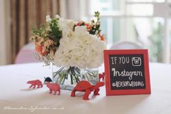Beasor wedding table