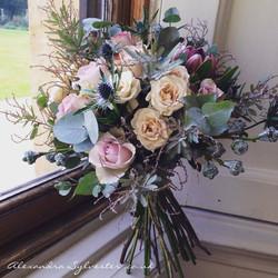 Ashton Court rose bouquet