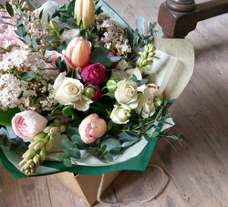 Tulips gift bouquet