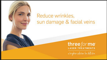 Laser Facial for Facial wrinkles, veins, and sun damage