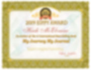 Heidi McElvaine Certificate My Journey M