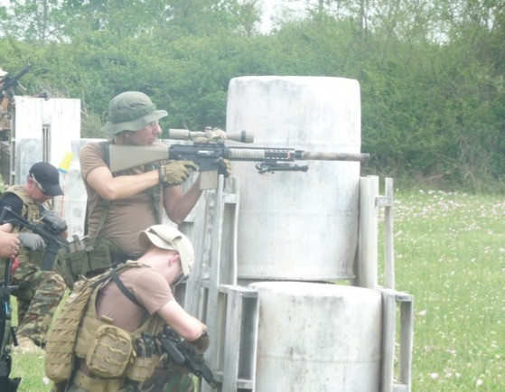 Starburst III, DMR ranging out to delay enemy