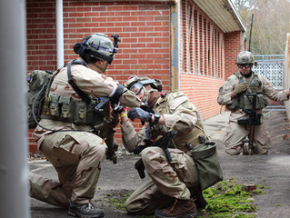 Getting into the mode of a Third Coast Airsoft Event