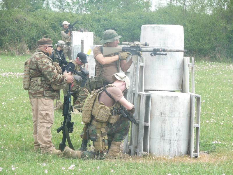 ODA 205 in the defense at Starburst IV