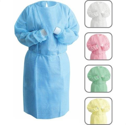 Isolation Gowns Blue